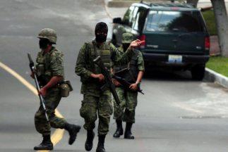 Ejército mexicano participa en la lucha antidrogas.