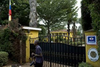 Embajada de Venezuela en Kenya.