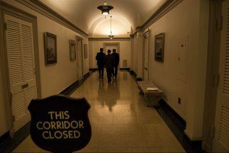 La oficina del presidente del Congreso, John Boehner, permaneció cerrada...