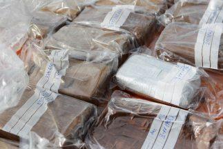 La droga estaba entre los útiles escolares de la niña. (Imagen de archivo).