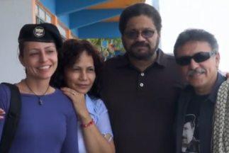 El Gobierno de Colombia y las FARC comenzaron en La Habana la reunión té...
