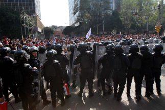 Las autoridades señalaron que los uniformados no iban armados y únicamen...