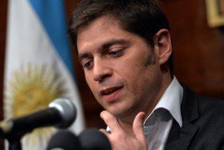 El ministro de Economía argentino, Axel Kicillof.