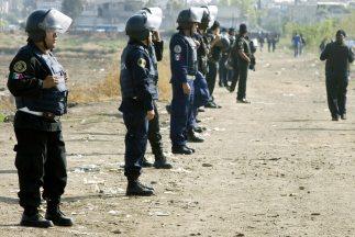 Autoridades vigilan la zona de Iztapalapa, en Ciudad de México. (Imagen...