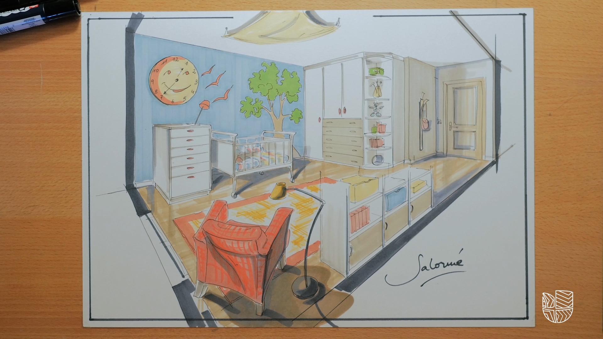 C mo decorar la habitaci n de un beb la clave es mirar for Programa amueblar habitacion