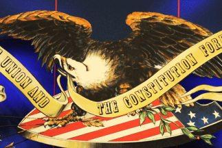 Logotipo del tercer debate presidencial televisado de Estados Unidos ent...