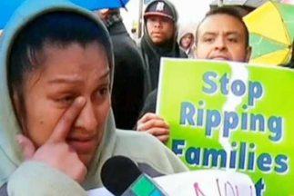 Una mujer, visiblemente afectada por la batida, relató que el 31 de marz...