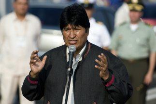 El presidente boliviano, Evo Morales, aseguró que se había comunicado a...