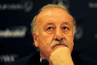 El DT de España, Vicente del Bosque, defendió en Rio de Janeiro la decis...