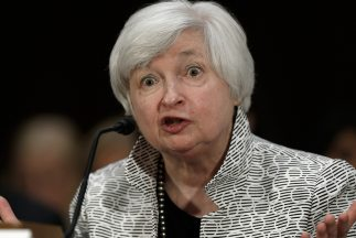 Janet Yellen, presidenta de la Reserva Federal (Fed).