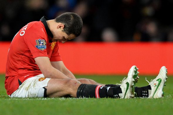 Chicharito quiere salir del Manchester United.