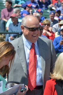 Nolan Ryan fungió como CEO de lso Rangers desde marzo del 2011, aunque d...