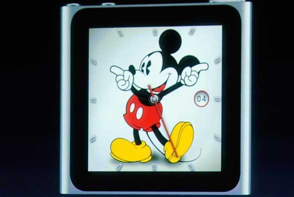 El iPod Nano de sexta generación fue el primer intento de un reloj de Ap...