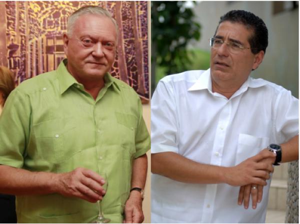 Jurgen Mossack y Ramón Fonseca, cofundadores de la firma panameña