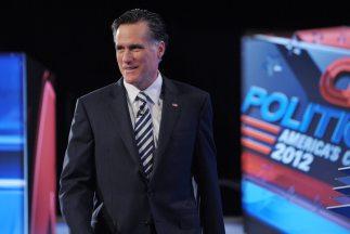 Mitt Romney se desmarcó de su principal contendiente en las encuestas pa...