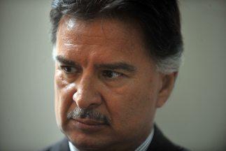 El juicio contra el ex presidente de Guatemala Alfonso Portillo (2000-20...