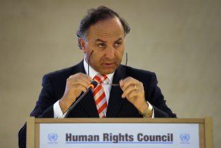 El ministro de Justicia de Chile, Teodoro Ribera, presentó su renuncia a...