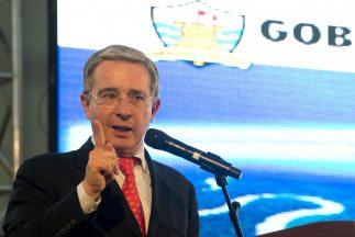 El ex presidente de Colombia,Álvaro Uribe.