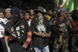 Los pobladoresiniciaron tareas de autoprotección para inhibir la incide...