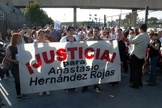 El caso de Anastasio Hernández sigue abierto pero activistas de derechos...