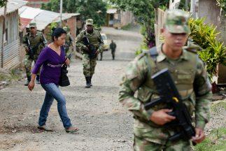 Las elecciones serán vigiladas por policías y militares.