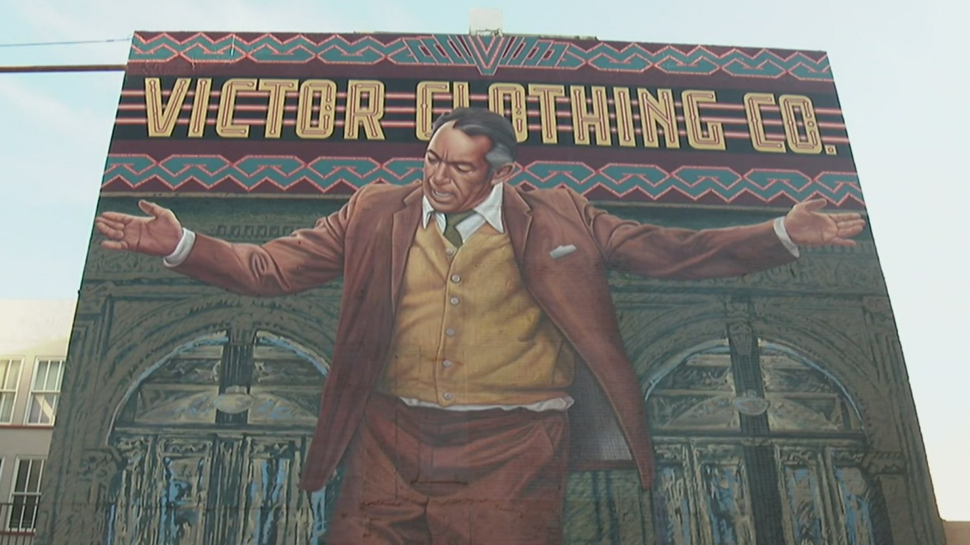Celebran restauraci n del mural de anthony quinn en el for Anthony quinn mural