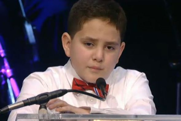 A manera de homenaje, el más pequeño de los hijos de Jenni Rivera creó u...
