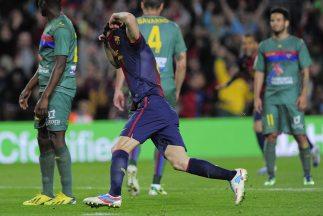 Cesc hizo el gol del triunfo del Barcelona.
