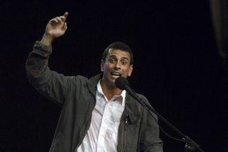 HenriqueCapriles, candidato de la oposición a la presidencia de Venezuela.