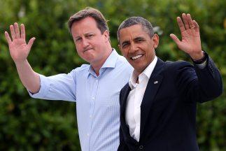 Los líderes estadounidense y europeos admitieron que la negociación de e...