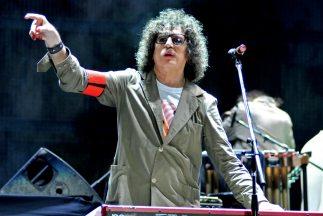 El músico argentino Charly García.