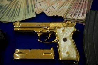 El 70% de las armas ilegales en México vienen de Estados Unidos, dato ad...