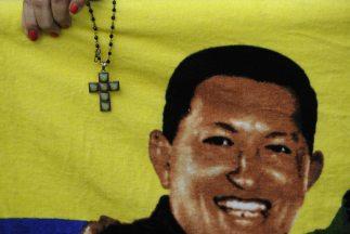 Partidarios del presidente de Venezuela,Hugo Chávez.
