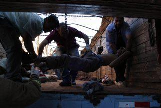 Violentos enfrentamientos en Curuguaty, 250 km al noreste de Asunción, d...