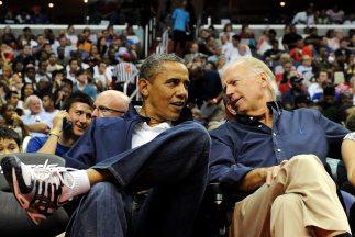 El presidente de Estados Unidos, Barack Obama, junto al vicepresidente J...
