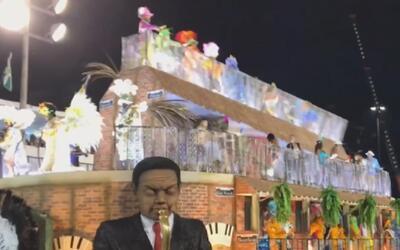 Una carroza colapsa y deja 12 personas heridas en el carnaval de Río