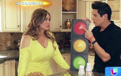 Entra a la cocina de Chiquis Marín con Alejandro Chabán para que veas có...