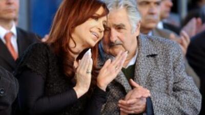 """""""Esta vieja es peor que el tuerto"""" dijo supuestamente el presidente urug..."""