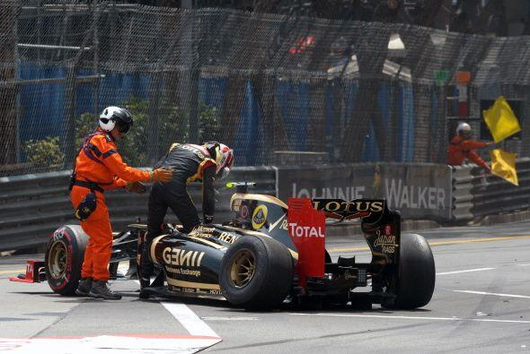 Webber lideró la carrera de principio a fin y ganó en Mónaco por segunda...