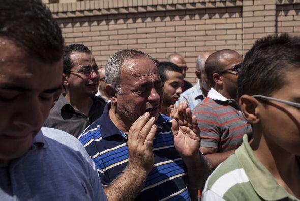 Mursi fue depuesto el pasado 3 de julio en un golpe de estado militar pr...