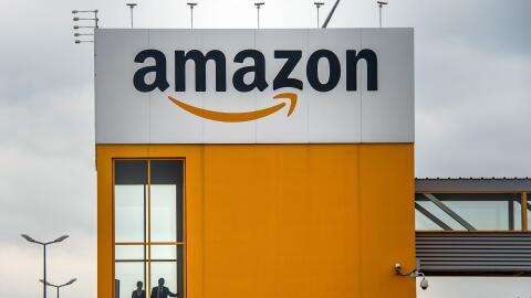 Un centro de distribución de Amazon
