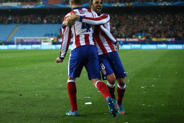 Atlético se mantenía en pie de lucha con el gol de Su&aacu...