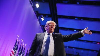 Donald Trump sube en las encuestas