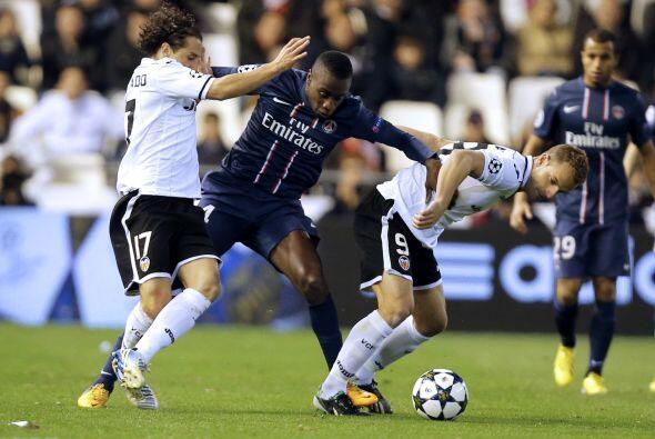 Pero el descaro del PSG estaba quedando corto con el marcador de 2-0.