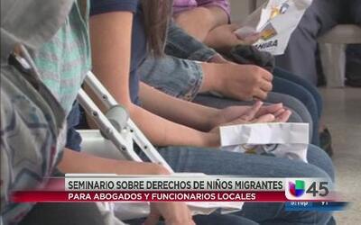 Seminario sobre derechos de niños migrantes