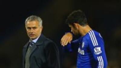 Mourinho habló sobre Diego Costa.