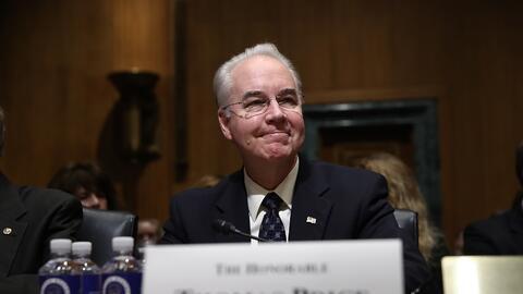 Tom Price, nuevo secretario de Salud