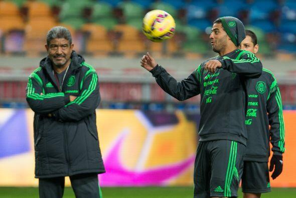 Carlos vela se le vio tranquilo y con confianza en su vuelta al equipo m...