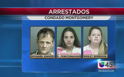 Detenidos en operación antidrogas en el condado Montgomery