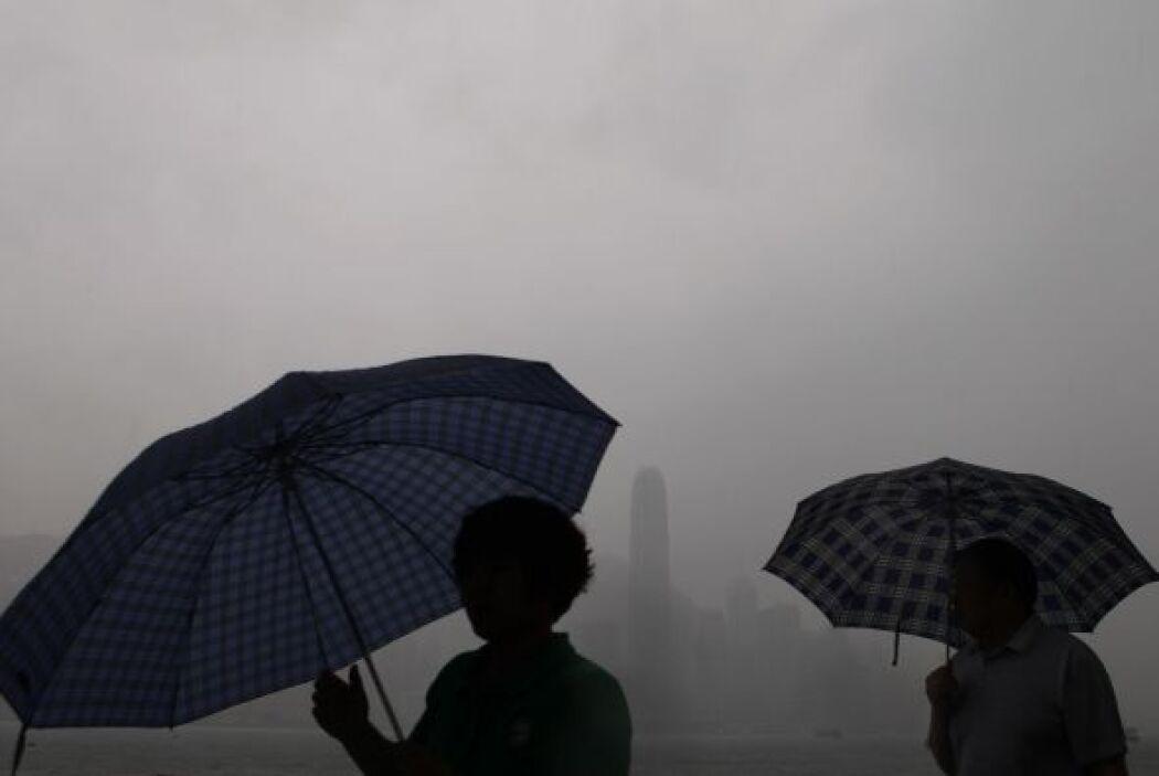El ministerio chino de Asuntos Civiles informó que la tormenta es la más...